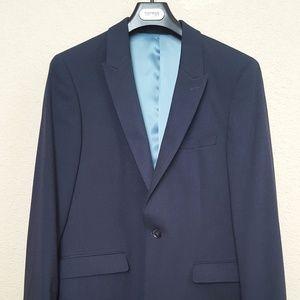 Men's Blazer Coat with Pants Full Suit